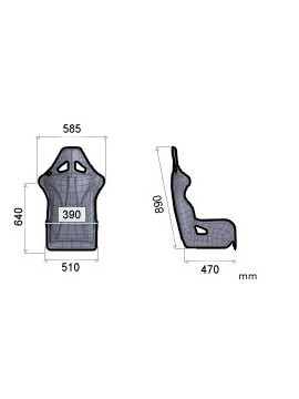 OMP TRS-X FIA SEAT