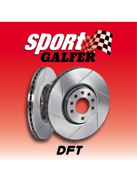 DISCOS DE FRENO GALFER SPORT TRAS. Ø 286 mm