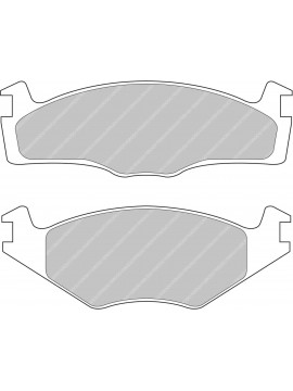 FERODO DS-PERFORMANCE BRAKE PADS