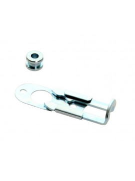 Quick release bracket for lamp pods