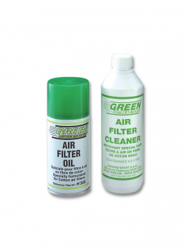 Green air filter cleaner
