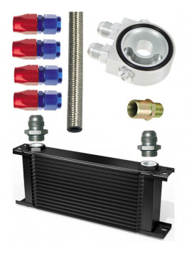 Pack SETRAB 122x210 oil cooler, 16 rows