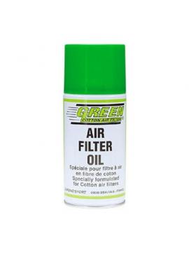 Green air filter oil