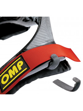 OMP STRAP HOLDER FOR HANS® COLLAR