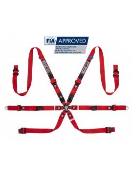 SPARCO PRIME H-7 6 POINTS HARNESS