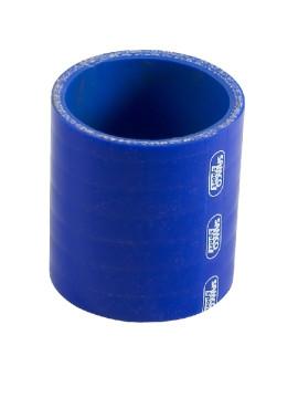 Coupleur Silicone Silicon Hoses Longueur 76mm Bleu Ø 70 mm