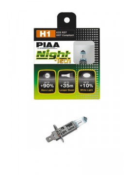 PIAA NIGHT TECH H1 55W=125W BULBS