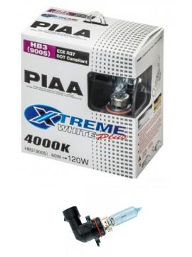 HB3 (9005) PIAA XTREME WHITE PLUS 60/120W BULBS