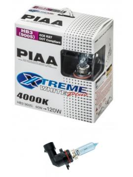 LÁMPARAS HB3 (9005) PIAA XTREME WHITE PLUS 60W=120W