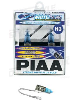 AMPOULES H3 PIAA XTREME WHITE PLUS 55W=110W