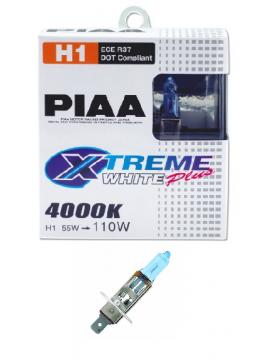 AMPOULES H1 PIAA XTREME WHITE PLUS 55W=110W