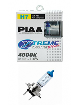 H7 PIAA XTREME WHITE PLUS 55=110W BULBS