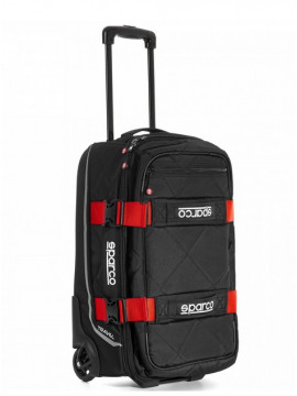 SPARCO TRAVEL SOFT CABIN SIZE TROLLEY