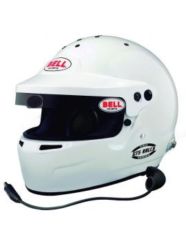 CASCO BELL GT5 RALLY WHITE HANS SA2015/FIA8859-2015