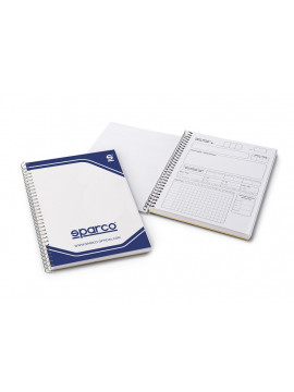 Co-driver note pad