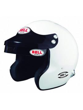 BELL WHITE MAG 1 HELMET FIA8859-2015
