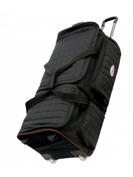 Trolley Travel Bag Black Quilted