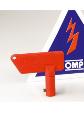 OMP SPARE KEY FOR 2 POLES MODEL EA/460