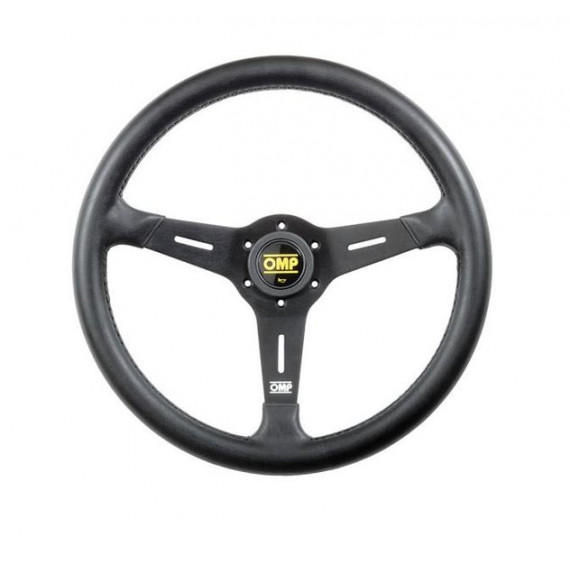 OMP SAND STEERING WHEEL FLAT Ø 380 mm