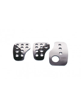 OMP SET 3 RACING PEDALS SILVER