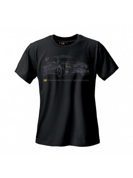 "CAMISETA OMP NEGRA ""RALLY"""