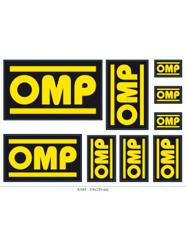 OMP STICKERS SET