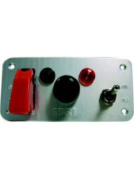 REDSPEC Starter ignition switch panel