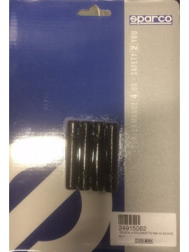 4 unit Sparco steel wheel lug 12x150 62mm