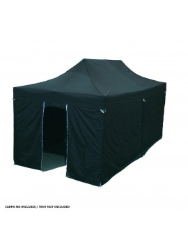 PACK DE LATERALES CARPA 3X6 (5 PAREDES/1PUERTA)