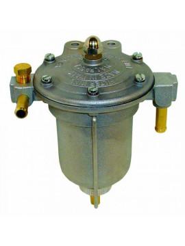 KING Competition fuel pressure regulator filter Aluminium
