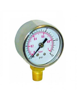 Sytec Fuel Pressure Gauge 0-15psi