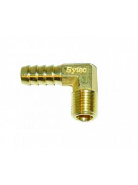 Brass 90 Degree Union 1/4 NPT - 8mm