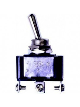 12 volt On/Off/On toggle switch, 25 Amps