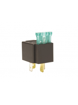 4-pin relay, 30A 12V, with 30A fuse