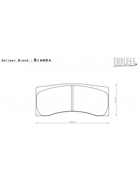 ENDLESS PASTILLAS DE FRENO N35S