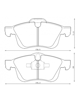 Plaquettes de frein ENDLESS N35S