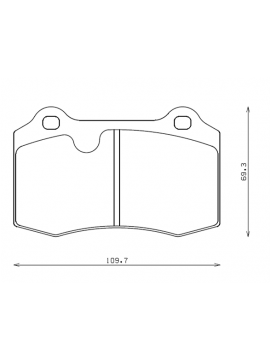 ENDLESS N35S BRAKE PADS