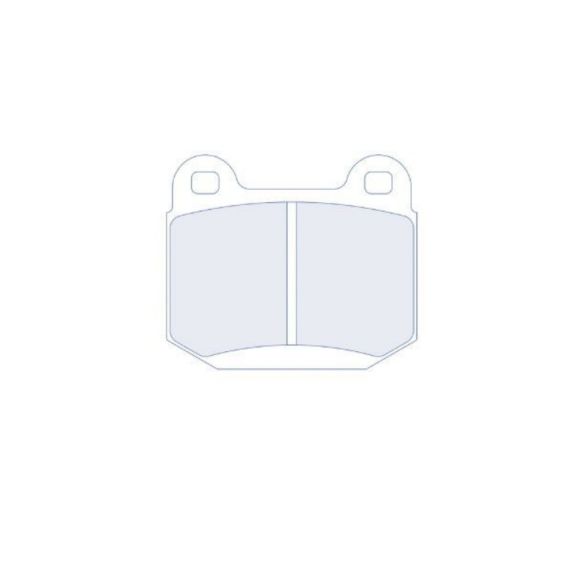 PASTILLAS DE FRENO CL BRAKES 1PFCL4060RC5+ TRAS MITSUBISHI