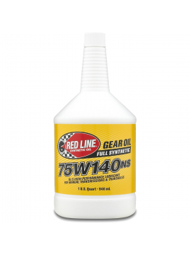 RED LINE SHOCKPROOF® GEAR OILS 75w140NS